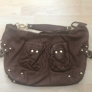 Linea Pelle leather handbag.